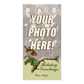 Victorian Christmas Photo Cards