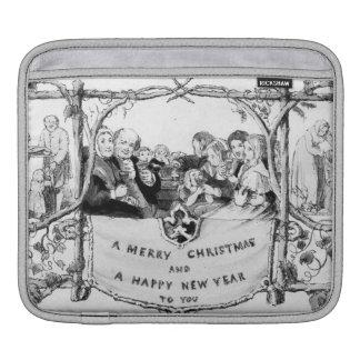 Victorian Christmas Sleeve For iPads