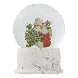 Victorian Christmas Snow Globe (You can customize)