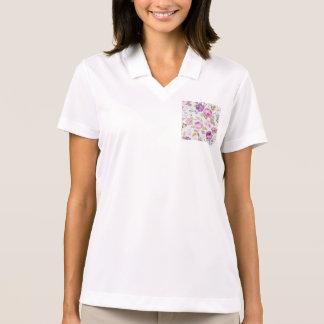Victorian,country,lavender,shabby,chic,roses,paris Polo Shirt