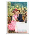 Victorian Couple Postcard 001 Card