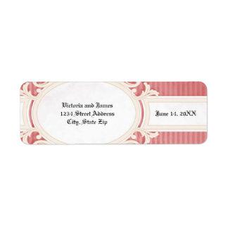 Victorian Damask - Address Label