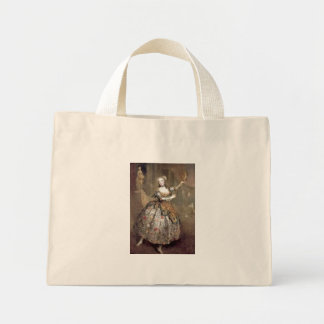 Victorian Dancer Tote Bags