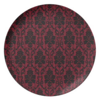 Victorian decoration dinner plates
