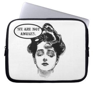 Victorian Diva Humor Laptop Sleeve