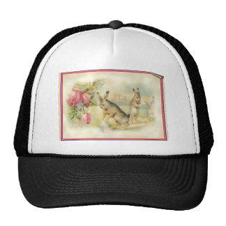 Victorian Easter Bunny Cap