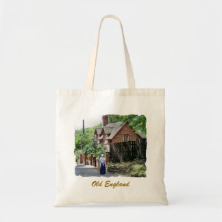 VICTORIAN ENGLAND BUDGET TOTE BAG