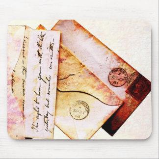 Victorian envelopes mouse pad