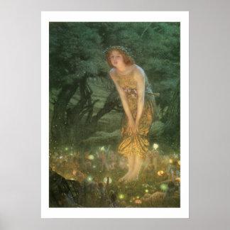 Victorian Era Fantasy Paintings Art Print 20x28