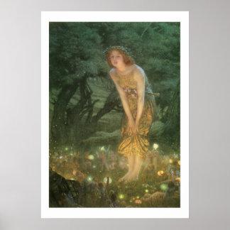 Victorian Era Fantasy Paintings Art Print 24x33