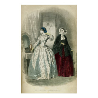 Victorian Era Fashion Poster