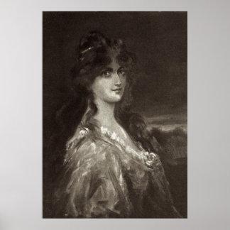 Victorian Era - Lady's Portrait Poster