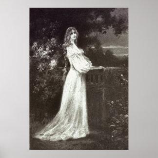 Victorian Era - Midnight Stroll Poster