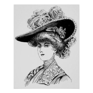 Victorian Era - Portrait of a Lady Poster