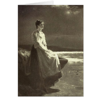 Victorian Era - Star Gazing Card