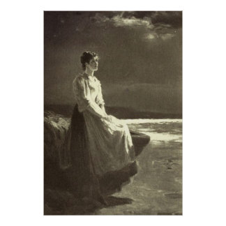 Victorian Era - Star Gazing Print