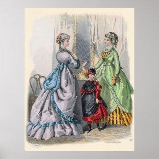 Victorian Era Women s Fashion Posters