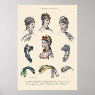 Victorian Era Women s Fashion Print