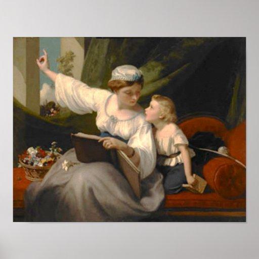 Victorian Fairy Tale Story Print