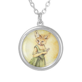 Victorian Fennec Fox Necklace