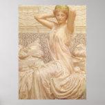Victorian Fine Art, Silver by Albert Joseph Moore Poster
