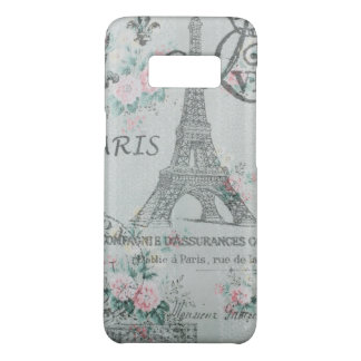 victorian floral floral paris eiffel tower Case-Mate samsung galaxy s8 case