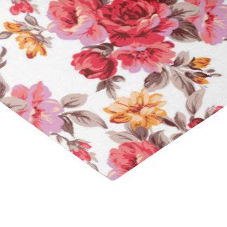 Victorian floral pattern tissue paper