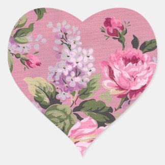 Victorian Flower Bouquet Sticker