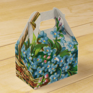 Victorian Forget-Me-Not Blossoms Gift Box