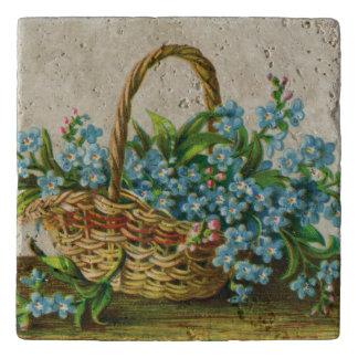 Victorian Forget-Me-Not Blossoms Trivet