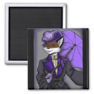 Victorian Fox Magnet