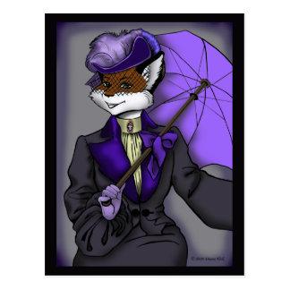 Victorian Fox Postcard