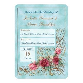 Victorian Frame - Wedding Invitation Suite