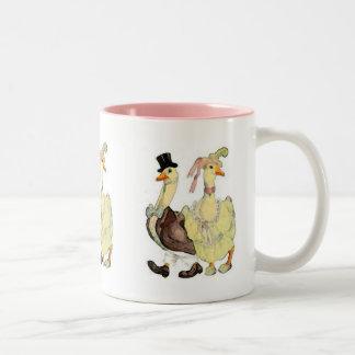Victorian Geese Mug