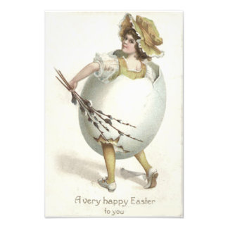 Victorian Girl Easter Egg Costume Yellow Photo