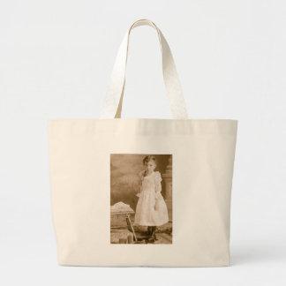 Victorian, Glayds McDowell: www.AriesArtist.com Jumbo Tote Bag