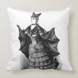 Victorian/Gothic Batgirl/Bat Costume Cushion