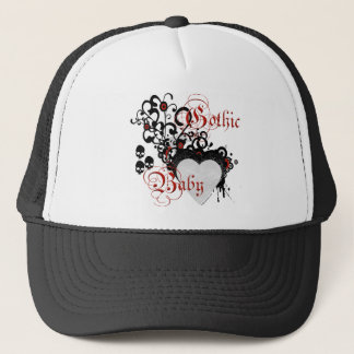 Victorian gothic trucker hat
