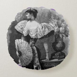 Victorian Grace Round Cushion