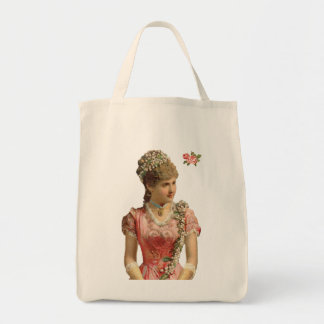 Victorian Grocery Tote Grocery Tote Bag