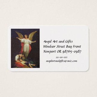 Victorian Guardian Angel Business Card