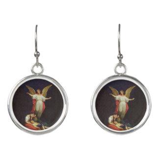 Victorian Guardian Angel Earrings