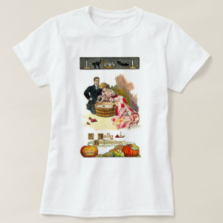 Victorian Halloween Couple T-shirts