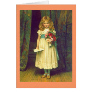 Victorian Happy Birthday card