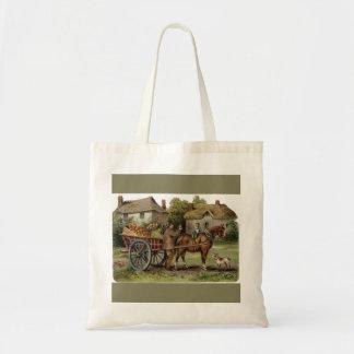Victorian Horse Drawn Apple Cart