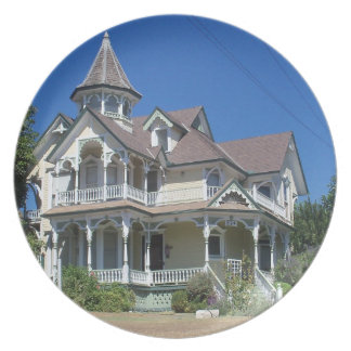 Victorian House dinner plate