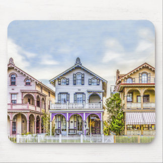 Victorian House Row Mousepad