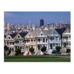 Victorian Houses Postcard
