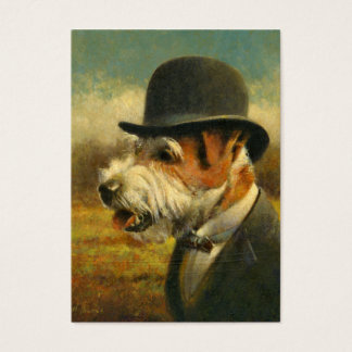 Victorian Jack Russell ACEO  Business Card