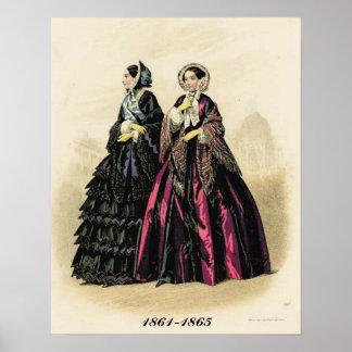 Victorian Ladies Catalog Poster Print